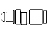 Толкатель  Гидрокомпенсатор NISSAN ALMERA/PRIMERA/SUNNY 2.0 SR20D/DE 90-02  Вид эксплуатации: гидравлический Вес [г]: 37,9