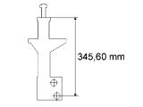 Амортизатор  Амортизатор VW PASSAT 09/92-08/96 пер.масл.(стойка)(с обор.для пл  Параметр: SF32/22X156A Вид амортизатора: давление масла Вид амортизатора: Стойка амортизатора Система амортизатора: двухтрубный