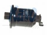 Топливный фильтр  Фильтр топливный MITSUBISHI COLT/LANCER 1.3/1.6 95-  Высота [мм]: 103,5 Внутренний диаметр: 65 Размер резьбы 1: M14 P1,5 Размер резьбы 2: M12 P1,25