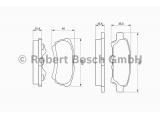 Комплект тормозных колодок, дисковый тормоз  Колодки тормозные MITSUBISHI LANCER IX 03>OUTLANDER 03>08 задние  Датчик износа: вкл. датчик износа Толщина [мм]: 15,4 Высота 1 [мм]: 40 Высота 2 [мм]: 35,5 Ширина 1 [мм]: 85,5 Ширина 2 [мм]: 106 ограничение производителя: AKEBONO System