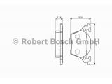 Комплект тормозных колодок, дисковый тормоз  Колодки торм.зад.W638 96-03 (GDB1408)  Датчик износа: без датчика износа Дополнительный артикул / Доп. информация 2: с прижимной пластиной Толщина [мм]: 17,8 Ширина (мм): 105 Высота [мм]: 52,8 Тормозная система: Bosch