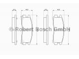 Комплект тормозных колодок, дисковый тормоз  Колодки торм.зад.GALANT 92-03(GDB1023)  Датчик износа: вкл. датчик износа Толщина [мм]: 15,5 Ширина (мм): 107,9 Высота [мм]: 41 ограничение производителя: AKEBONO System