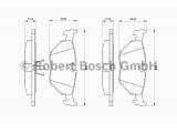 Комплект тормозных колодок, дисковый тормоз  Колодки тормозные BMW E32/E34/E36/Z3 >03 задние  Датчик износа: без датчика износа Толщина [мм]: 17 Ширина (мм): 123 Высота [мм]: 45 Тормозная система: ATE