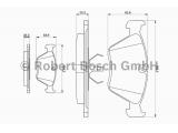 Комплект тормозных колодок, дисковый тормоз  Колодки тормозные BMW E36 M3/E34/E32/Z3 E36 передние  Датчик износа: без датчика износа Дополнительный артикул / Доп. информация 2: с прижимной пластиной Толщина [мм]: 20 Ширина (мм): 156,4 Высота [мм]: 63,5 Тормозная система: ATE