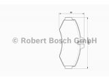 Комплект тормозных колодок, дисковый тормоз  Колодки тормозные MERCEDES VITO 93>03/SPRINTER (901-903) >06 пере  Датчик износа: без датчика износа Дополнительный артикул / Доп. информация 2: с прижимной пластиной Толщина [мм]: 20,9 Ширина (мм): 134,3 Высота [мм]: 64,2 Тормозная система: Bosch