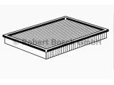 Воздушный фильтр  Фильтр воздушный OPEL ZAFIRA/ASTRA G/H 1.2-2.2D  Исполнение фильтра: Фильтр-патрон Длина [мм]: 293 Ширина (мм): 236 Высота [мм]: 42