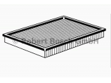 Воздушный фильтр  Фильтр воздушный HYUNDAI MATRIX 01-  Исполнение фильтра: Фильтр-патрон Длина [мм]: 242 Ширина (мм): 193 Высота [мм]: 32
