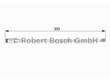 Сигнализатор, износ тормозных колодок  Датчик износа торм.колодок OPEL  Тип тормоза: Дисковой механизм Общая длина [мм]: 300