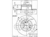 Тормозной диск  Диск тормозной BMW E34 518-525TDS 88-97 передний не вент.  Тип тормозного диска: полный Диаметр [мм]: 302 Толщина тормозного диска (мм): 12 Минимальная толщина [мм]: 10,4 Высота [мм]: 76,1 Диаметр центрирования [мм]: 79 Материал: бумага Количество отверстий: 5 Момент затяжки [Нм]: 8,5 Дополнительный артикул / Доп. информация 2: с винтами