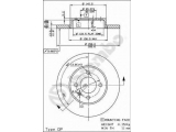 Тормозной диск  Диск тормозной VW GOLF III/VENTO/PASSAT 88>99 передний не вент. D  Тип тормозного диска: полный Диаметр [мм]: 256 Толщина тормозного диска (мм): 13 Минимальная толщина [мм]: 11 Высота [мм]: 39,2 Диаметр центрирования [мм]: 65 Количество отверстий: 4 Момент затяжки [Нм]: 11 Дополнительный артикул / Доп. информация 2: с винтами