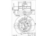 Тормозной диск  HC (561 477 J) Диск торм зад BMW E34  Тип тормозного диска: полный Диаметр [мм]: 300 Толщина тормозного диска (мм): 10 Минимальная толщина [мм]: 8,4 Высота [мм]: 61,1 Диаметр центрирования [мм]: 75 Количество отверстий: 5 Материал: бумага Момент затяжки [Нм]: 8,5 Дополнительный артикул / Доп. информация 2: с винтами