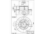 Тормозной диск  Диск тормозной AUDI A100 91>94/A6 95>05/VW PASSAT 97>05 задний  Тип тормозного диска: полный Диаметр [мм]: 245 Толщина тормозного диска (мм): 10 Минимальная толщина [мм]: 8 Высота [мм]: 63,9 Диаметр центрирования [мм]: 68 Количество отверстий: 5 Момент затяжки [Нм]: 11