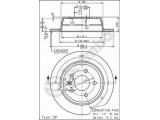 Тормозной диск  HC (562 065 J) Диск торм зад MB VITO/V-cl  Тип тормозного диска: полный Диаметр [мм]: 280 Толщина тормозного диска (мм): 10 Минимальная толщина [мм]: 8 Высота [мм]: 63,2 Диаметр центрирования [мм]: 67 Материал: бумага Количество отверстий: 5 Дополнительный артикул / Доп. информация 2: с винтами