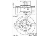 Тормозной диск  HC (561 619 J) Диск торм пер вент G3 VR6  Тип тормозного диска: с внутренней вентиляцией Диаметр [мм]: 280 Толщина тормозного диска (мм): 22 Минимальная толщина [мм]: 20 Высота [мм]: 28,2 Диаметр центрирования [мм]: 65 Количество отверстий: 5 Материал: бумага Момент затяжки [Нм]: 11 Дополнительный артикул / Доп. информация 2: с винтами