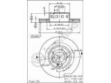 Тормозной диск  (561 985 J) Диск торм пер вент E34 M5 88-  Тип тормозного диска: с внутренней вентиляцией Диаметр [мм]: 315 Толщина тормозного диска (мм): 28 Минимальная толщина [мм]: 26,4 Высота [мм]: 76 Диаметр центрирования [мм]: 79 Материал: бумага Количество отверстий: 5 Дополнительный артикул / Доп. информация 2: с винтами