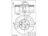 Тормозной диск  HC (561 856 J) Диск торм пер вент G3  Тип тормозного диска: с внутренней вентиляцией Диаметр [мм]: 288 Толщина тормозного диска (мм): 25 Минимальная толщина [мм]: 23 Высота [мм]: 28,2 Диаметр центрирования [мм]: 65 Материал: бумага Количество отверстий: 5 Дополнительный артикул / Доп. информация 2: с винтами