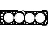 Прокладка, головка цилиндра  Прокладка ГБЦ DAEWOO/CHEVROLET LACETTI/LANOS 1.4-1.6 03-  Толщина [мм]: 0,65 Количество пазов/ отверстий: 1 Диаметр [мм]: 80 Конструкция прокладка: Прокладка металлическая уплотняющая