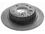 Тормозной диск  Диск тормозной BMW E34 задний 1 шт (min 2 шт)  Ширина (мм): 61 Внешний диаметр [мм]: 300 Ø фаски 2 [мм]: 120 Материал: Чугун Количество отверстий: 5 Тип тормозного диска: полный Сторона установки: задний мост Толщина тормозного диска (мм): 10 Вес [кг]: 4,995 необходимое количество: 2