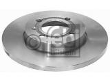 Тормозной диск  Диск тормозной VW GOLF III/VENTO/PASSAT 88>99 передний не вент. D  Внешний диаметр [мм]: 256 Ø фаски 2 [мм]: 100 Количество отверстий: 4 Тип тормозного диска: полный Сторона установки: передний мост Толщина тормозного диска (мм): 13 Вес [кг]: 4,175 необходимое количество: 2