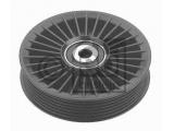 Паразитный / ведущий ролик, поликлиновой ремень  Ролик ремня приводного MB SPRINTER/OPEL VECTRA C/ZAFIRA 2.0D/2.2D  Ширина (мм): 23 Ширина (мм): 26,4 Внешний диаметр [мм]: 109 Внешний диаметр [мм]: 114 Вес [кг]: 0,265 Количество ребер: 6 необходимое количество: 1