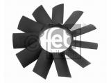 Крыльчатка вентилятора, охлаждение двигателя    Внешний диаметр [мм]: 420 Число крыльев: 11 Вес [кг]: 0,676 необходимое количество: 1