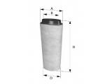 Воздушный фильтр  Фильтр воздушный BMW E46/E39 2.0D  Форма: круглый Высота [мм]: 378 Внутренний диаметр: 108 Внешний диаметр [мм]: 155
