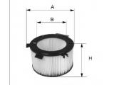 Воздушный фильтр  Фильтр воздушный BMW E90/E81 1.6-2.0 04-  Внешний диаметр [мм]: 128 Внутренний диаметр: 79 Высота [мм]: 199
