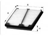 Воздушный фильтр  Фильтр воздушный HYUNDAI MATRIX 01-  Форма: угловой Длина [мм]: 238 Ширина (мм): 192,5 Высота [мм]: 32,5