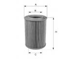 Воздушный фильтр  Фильтр воздушный HONDA CIVIC/CR-V 2.0 01-06  Высота [мм]: 174,5 Внутренний диаметр: 82 Внешний диаметр [мм]: 139,5