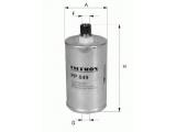 Топливный фильтр  Фильтр топливный AUDI 80/A4/A6/A8 1.6-6.0/VW PASSAT 2.0-4.0 96-05  Высота [мм]: 130,5 Размер резьбы: M 12X1,5 Внешний диаметр [мм]: 74 Исполнение фильтра: Накручиваемый фильтр