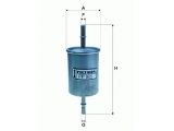 Топливный фильтр  Фильтр топливный OPEL/GM  Высота [мм]: 158 Внешний диаметр [мм]: 59 Исполнение фильтра: Прямоточный фильтр Впускн. Ø [мм]: 8 Выпускн.-Ø [мм]: 8