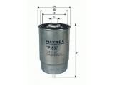 Топливный фильтр  Фильтр топливный HYUNDAI ACCENT/GETZ 1.5 CRDi  Исполнение фильтра: Накручиваемый фильтр Внешний диаметр [мм]: 83 Высота [мм]: 98 Размер резьбы: M16X1,5