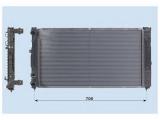 Радиатор, охлаждение двигател  Радиатор двигателя VAG A4 1.6/1.8/1.9TD 95-  Материал: алюминий Материал: полимерный материал Размеры радиатора: 632 x 414 x 32 mm