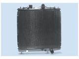 Радиатор, охлаждение двигател  Радиатор двигателя MITSUBISHI COLT 1.3/1.5 92-95  Размеры радиатора: 375 x 412 x 16 mm Материал: полимерный материал Материал: медь