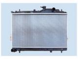 Радиатор, охлаждение двигател  Радиатор двигателя HYUNDAI MATRIX 1.5D 01-  Материал: алюминий Материал: полимерный материал Размеры радиатора: 625 x 360 x 20 mm