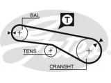 Ремень ГРМ  Ремень ГРМ MITSUBISHI 2.2-2.4 87-94/ HYUNDAI 1.6-2.0 90-98 (65x12  Число зубцов: 65 Ширина (мм): 12,7 Номер рекомендуемого специального инструмента: STT-1