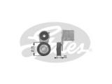 Натяжной ролик, поликлиновой  ремень  Натяжитель ремня приводного OPEL ASTRA G/H/VECTRA C 1.6/1.8
