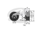 Натяжной ролик, ремень ГРМ  Ролик ремня ГРМ AUDI A3/VW GOLF IV/BORA 1.8
