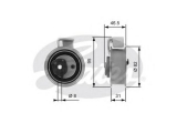 Натяжной ролик, ремень ГРМ  Ролик ремня ГРМ AUDI A4/A6/VW PASSAT 01-05 1.8/2.0 20V натяжной
