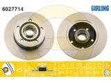 Тормозной диск  (DF2771) Диск торм зад A4  Тип тормозного диска: полный Диаметр [мм]: 244,7 Толщина тормозного диска (мм): 9,9 Диаметр центрирования [мм]: 45,3 Минимальная толщина [мм]: 8 Высота [мм]: 84 Количество отверстий: 5 Размер резьбы: M14 x 1.5 Ø фаски 2 [мм]: 112