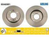 Тормозной диск  (DF4698) Диск торм пер вент ELANTRA/MATRIX  Высота [мм]: 46,7 Диаметр центрирования [мм]: 69 Минимальная толщина [мм]: 22,1 Толщина тормозного диска (мм): 24 Диаметр [мм]: 257 Ø фаски 2 [мм]: 114,3 Размер резьбы: 12,7 Количество отверстий: 4 Тип тормозного диска: вентилируемый