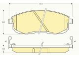 Комплект тормозных колодок, дисковый тормоз    ограничение производителя: SUMITOMO Датчик износа: вкл. датчик износа проверочное значение: E9 90R 01107/113 Высота [мм]: 53 Длина [мм]: 137,2 Толщина [мм]: 17
