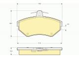 Комплект тормозных колодок, дисковый тормоз  Колодки тормозные AIDI A4 1.6/1.8/1.9D 95>00/VOLKSWAGEN PASSAT 97  ограничение производителя: TRW Датчик износа: не подготовленно для датчика износа проверочное значение: E9 90R 01107/089 Высота [мм]: 69,5 Длина [мм]: 119 Толщина [мм]: 19,4