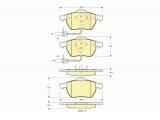 Комплект тормозных колодок, дисковый тормоз  Колодки тормозные AUDI A4/A6/VOLKSWAGEN PASSAT 97> передние  ограничение производителя: ATE Длина [мм]: 156,4 Высота [мм]: 74,2 Толщина [мм]: 19,5 Датчик износа: вкл. датчик износа Количество датчиков износа: 2 Длина предупреждающего контакта [мм]: 210 проверочное значение: E9 90R 01107/054