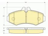 Комплект тормозных колодок, дисковый тормоз    ограничение производителя: BOSCH Датчик износа: без датчика износа проверочное значение: E9 90R 01705/020 Высота [мм]: 64,5 Длина [мм]: 134,4 Толщина [мм]: 20,8