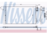 Конденсатор, кондиционер  Радиатор кондиционера BMW E87 1.6-3.5/1.6D-3.5D 05-  Вид коробки передач: ступенчатая / факультативная автоматическая коробка передач Дополнительный артикул / Доп. информация 2: с осушителем