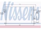 Конденсатор, кондиционер  Радиатор конд GM LACETTI 1.4-1.8 05-  Вид коробки передач: ступенчатая / факультативная автоматическая коробка передач
