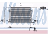 Конденсатор, кондиционер  Радиатор кондиционера VAG CADDY III/TOURAN 1.4-2.0/1.9-2.0 TDi 03  Материал: алюминий Дополнительный артикул / Доп. информация 2: с осушителем
