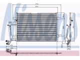 Конденсатор, кондиционер  Радиатор конд VAG A4 1.6-2.8/1.9 TDi 95-01  Размеры радиатора: 615 X 421 X 16 mm