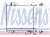 Радиатор, охлаждение двигател  Радиатор двигателя MITSUBISHI SPACE GEAR 2.0/2.4/2.5TD 95-01  Размеры радиатора: 500 X 613 X 25 mm Вид коробки передач: ступенчатая / факультативная автоматическая коробка передач Оснащение / оборудование: для транспортных средств с/без кондиционером Материал: медь Материал: полимерный материал